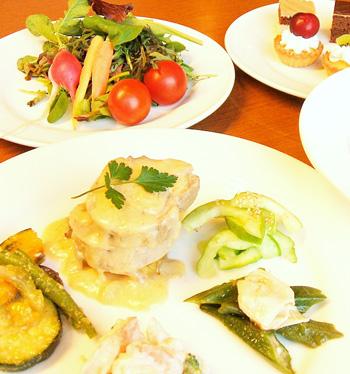 健康野菜のオーガニックビュッフェ